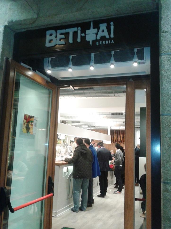 Pintxo Bar Beti Tai