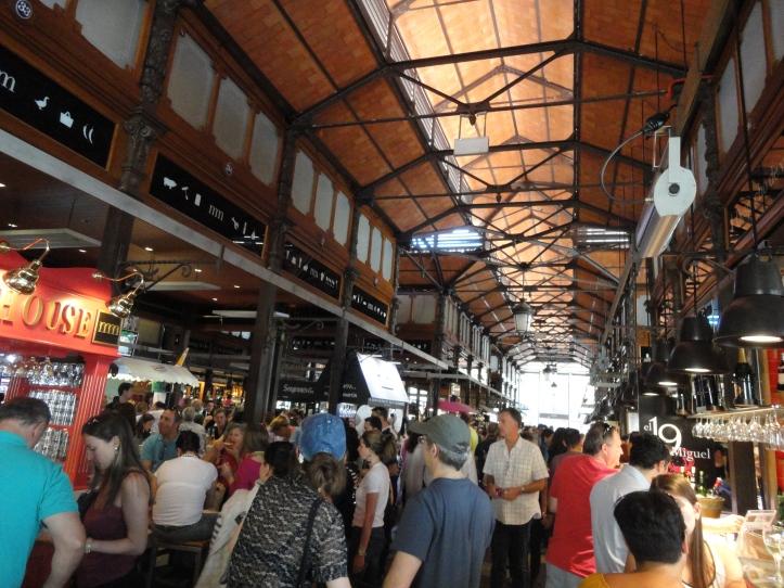Mercado de San Miguel por dentro