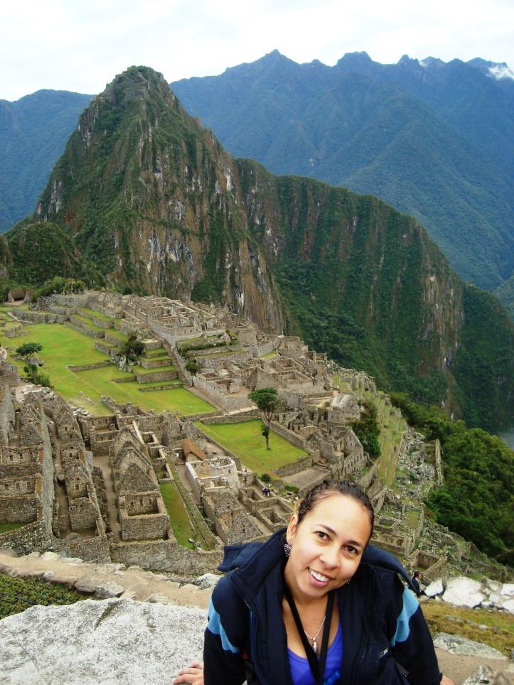 Machu Pichu do alto