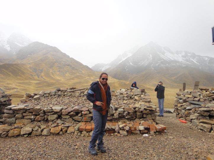 Pico na divisa entre Puno e Cusco