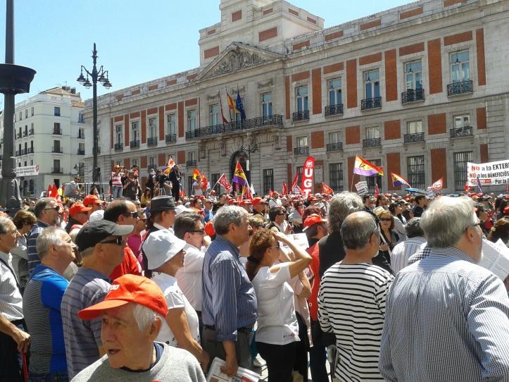Manifestação Porta do Sol