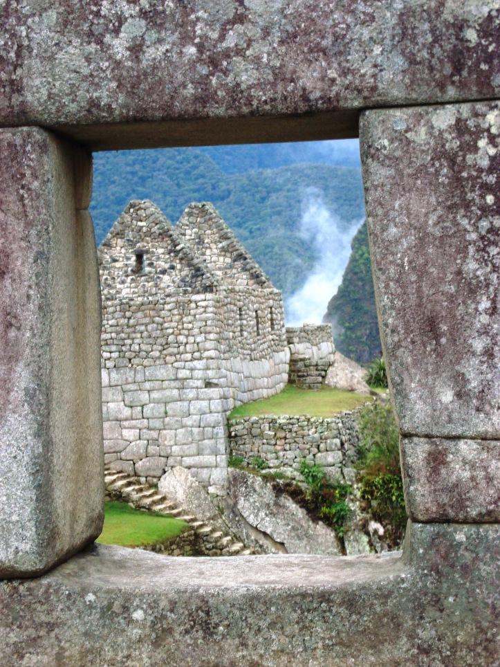 Construções de Machu Pichu