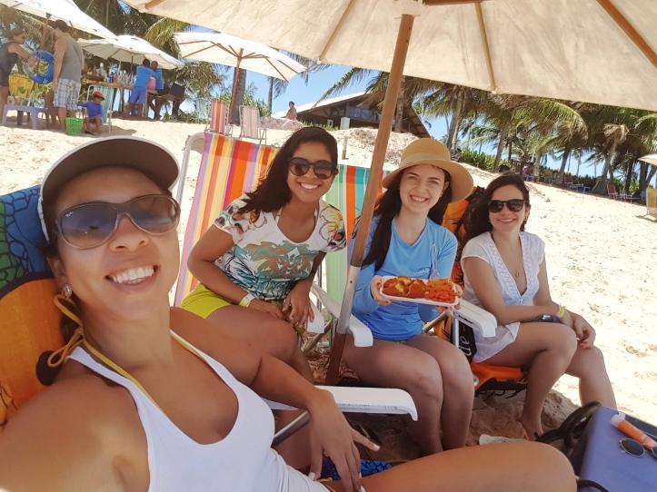 Acarajé na Praia do Chapéu