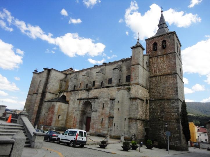 Fachada Igreja em El Espinar