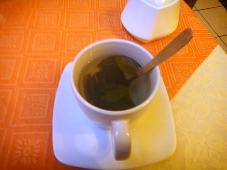 Chá de Coca da pousada