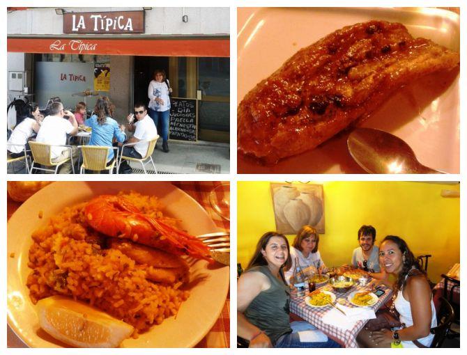 Almoço no La tipica em Espinar - Espanha