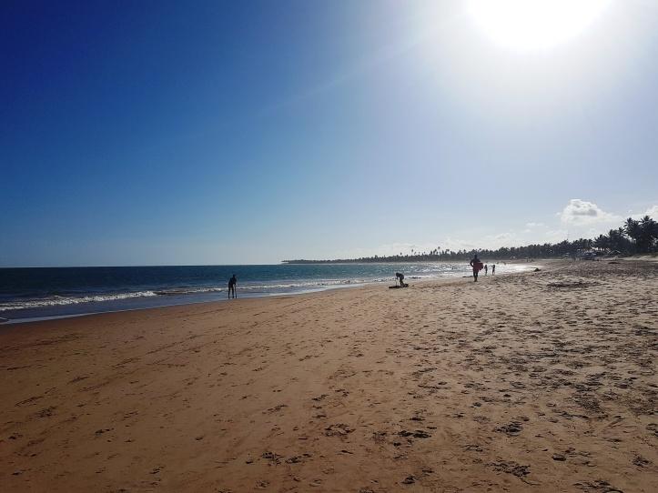 Praia de Guarajuba - mar