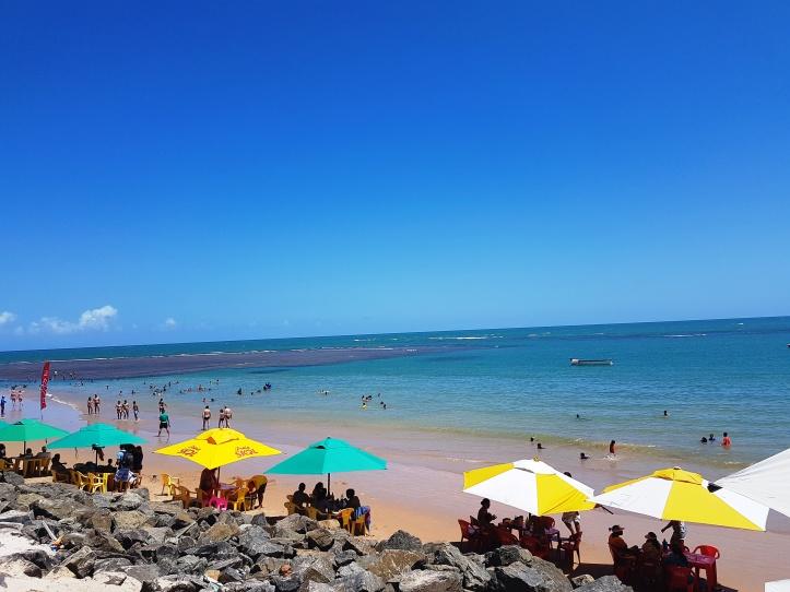 Praia de Guarajuba - piscininhas