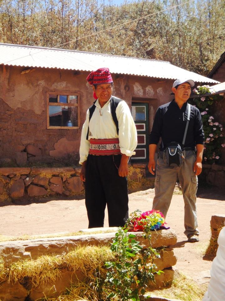 Vestimenta típica masculina