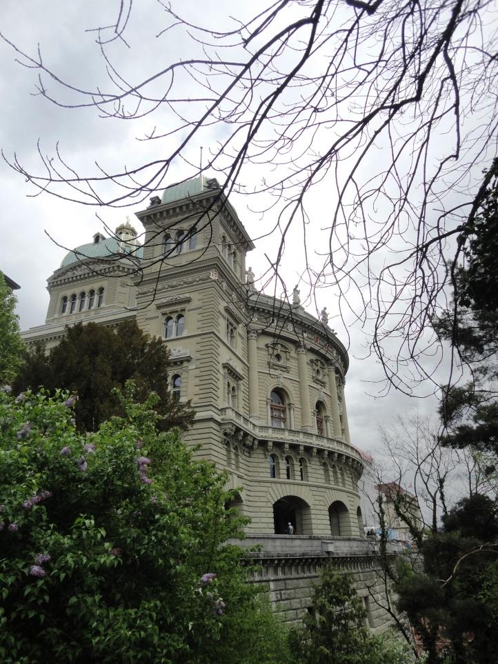 Parte posterior do Parlamento