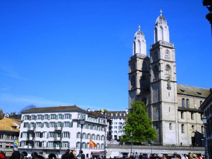 Catedral (Grossmünster )