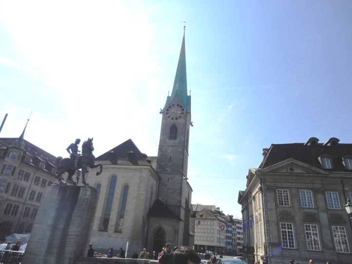 Igreja Fraumünster (Catedral de Nossa Senhora)