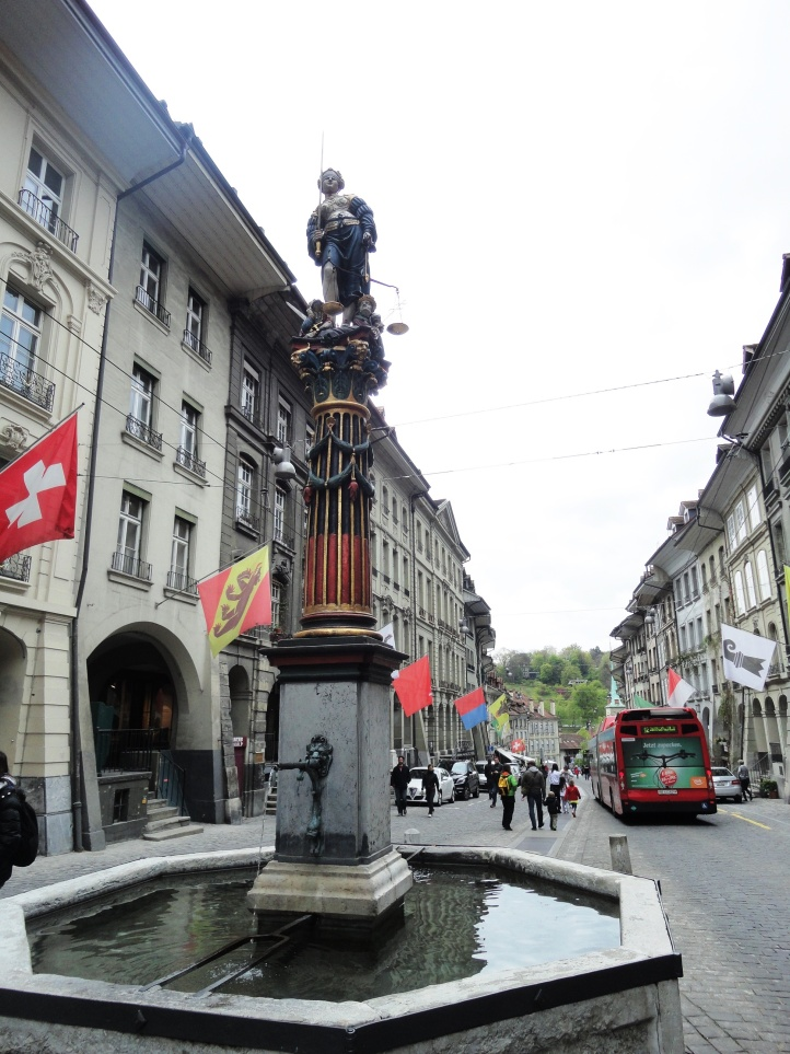Fonte Gerechtigkeitsbrunnen