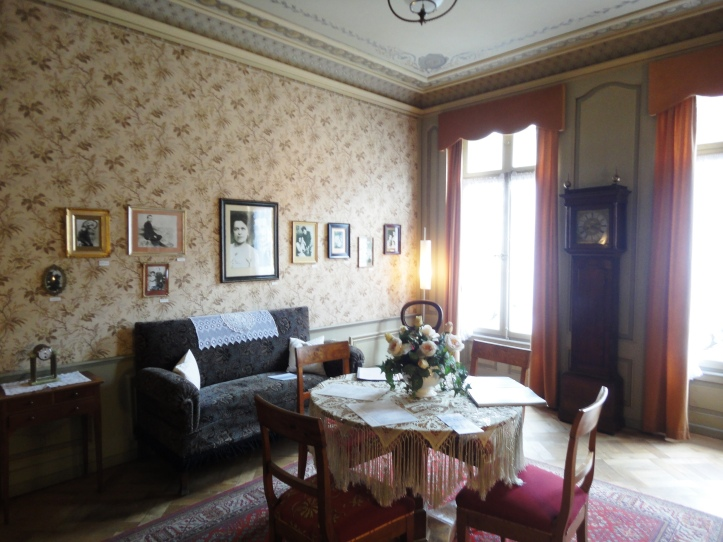 Sala de estar de Albert Einstein