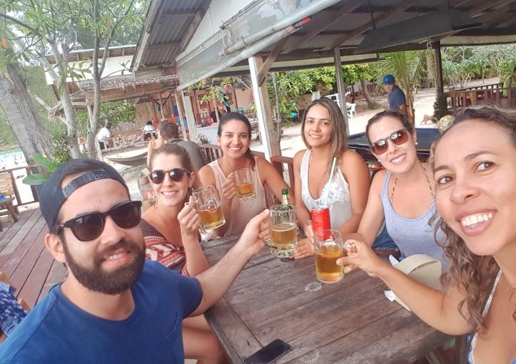 27 - cerveja de despedida em Haad Salad-01