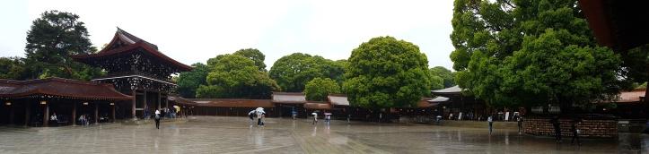Panorâmica do Santuário Meiji
