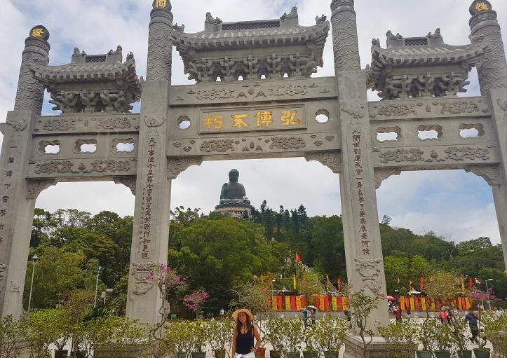 9- Portal com o Grande Buda ao fundo