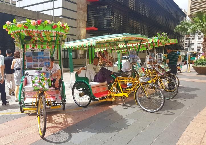 12- taxi turistico em Macau