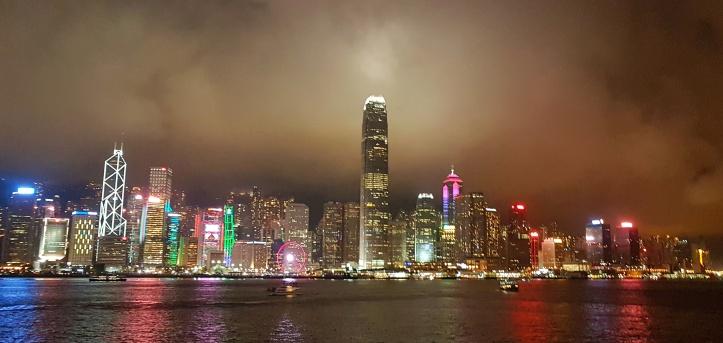 51- Ilha de Hong Kong panoramica